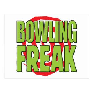 Bowling Freak G Postcard