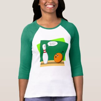 Bowling friendship? V T-Shirt