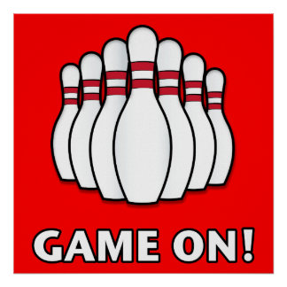 Bowling: Game On Poster