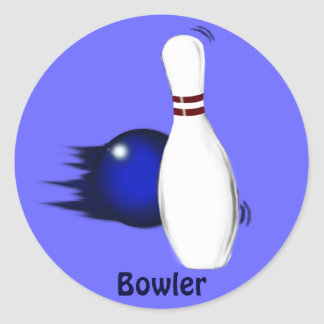 BOWLING Gear for Bowlers Collection Stickers