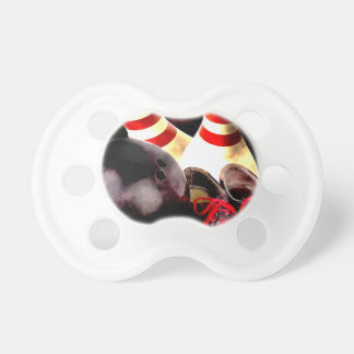 Bowling Gear Grunge Style BooginHead Pacifier