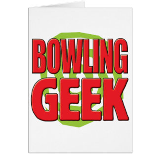 Bowling Geek Card