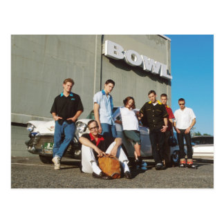 Bowling Geeks & Nerds Postcard