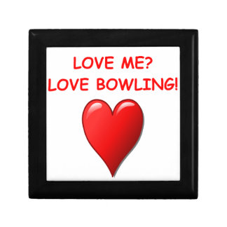 bowling jewelry boxes