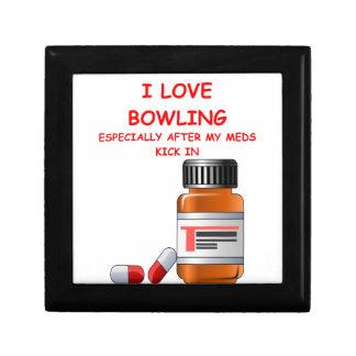 bowling trinket box