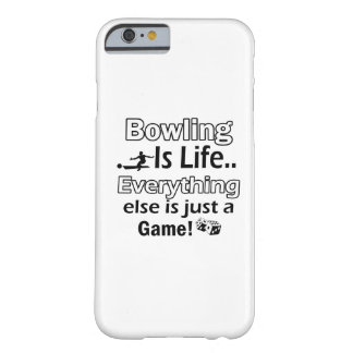 Bowling gift items barely there iPhone 6 case