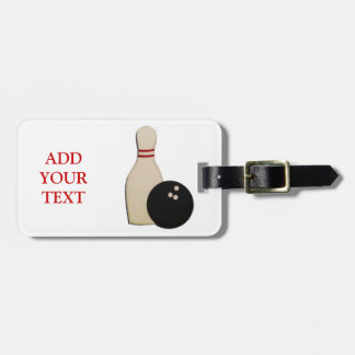 BOWLING GIFTS TAG FOR LUGGAGE