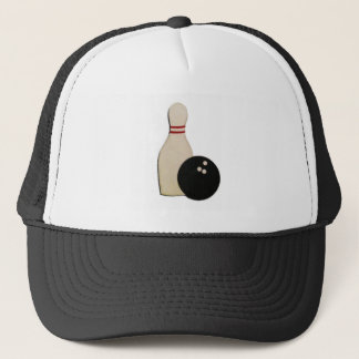 BOWLING GIFTS TRUCKER HAT