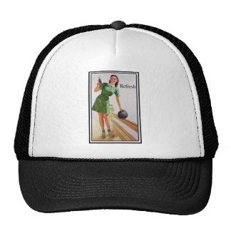 Bowling Girl Trucker Hat