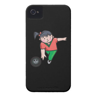 Bowling Girl iPhone 4 Case-Mate Case