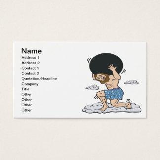 Bowling God Business Card