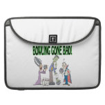 Bowling Gone Bad Sleeve For MacBook Pro