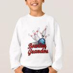 Bowling Grandma (strike).png Sweatshirt