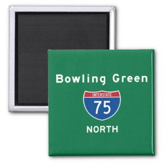 Bowling Green 75 Magnet
