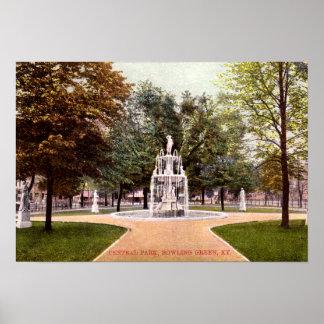 Bowling Green Kentucky Central Park Poster