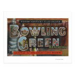 Bowling Green, Kentucky - Large Letter Scenes Postcard