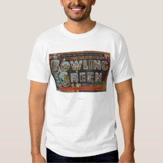 Bowling Green, Kentucky - Large Letter Scenes Shirt