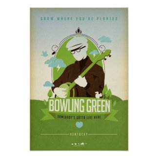 Bowling Green Kentucky Poster, too Poster