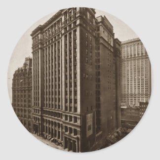 Bowling Green Offices New York City 1919 Classic Round Sticker