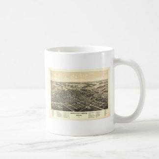 Bowling Green Ohio 1888 Map Coffee Mug