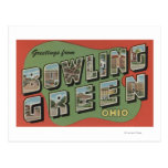 Bowling Green, Ohio - Large Letter Scenes Post Cards