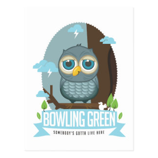Bowling Green Owl Postcard