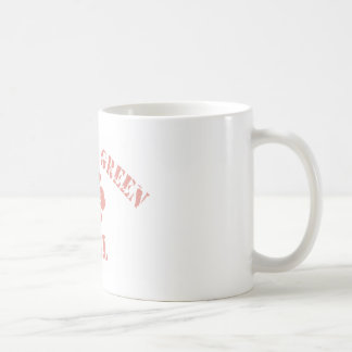 Bowling Green Pink Girl Classic White Coffee Mug
