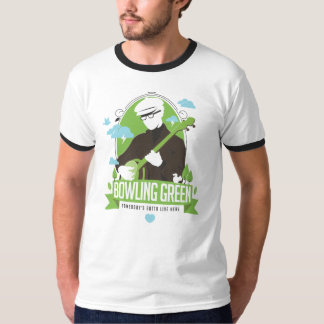 Bowling Green, Somebody's Gotta Live here - banjo T Shirts