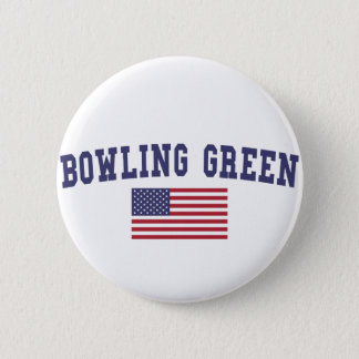 Bowling Green US Flag Button
