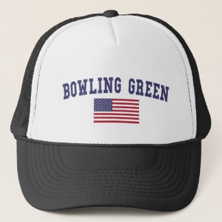 Bowling Green US Flag Trucker Hat