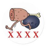 Bowling Hambone Stickers