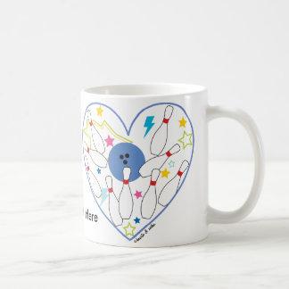 Bowling Heart Mug
