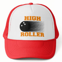 Bowling High Roller Bowler Trucker Hat