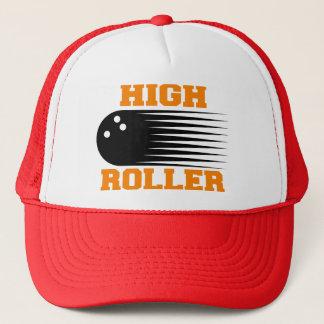 Bowling High Roller Bowler Trucker Hat