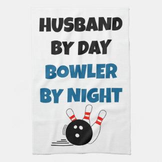 Bowling Husband Towels