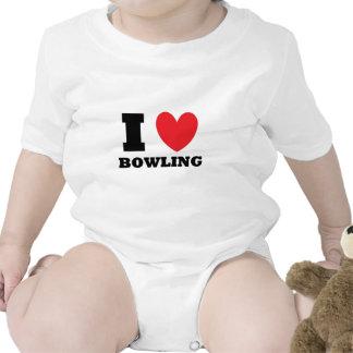 Bowling.  I Love Bowling. Romper
