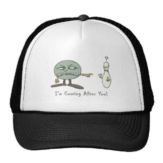 Bowling: I'm Coming After You Trucker Hat