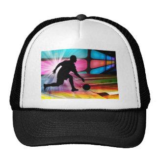 Bowling in a Neon Alley Trucker Hat