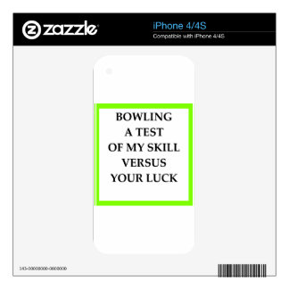 BOWLING iPhone 4 SKINS