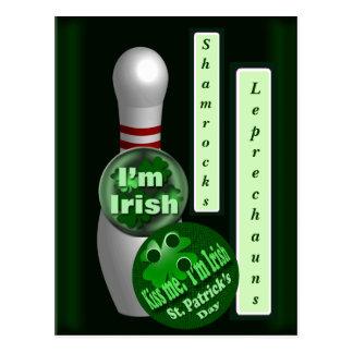 Bowling Irish Postcard