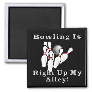 Bowling is 2 inch square magnet