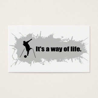 Bowling Is a Way of Life Business Card