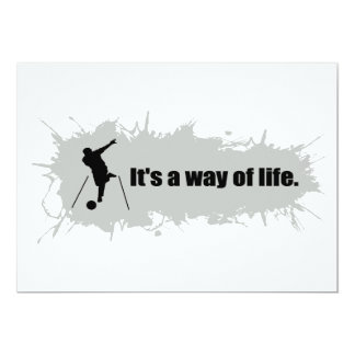 Bowling Is a Way of Life Card