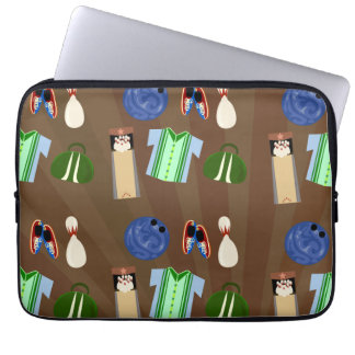 Bowling is Awesome Laptop Case