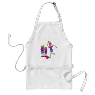 Bowling is fun! adult apron