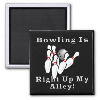 Bowling is fridge magnet