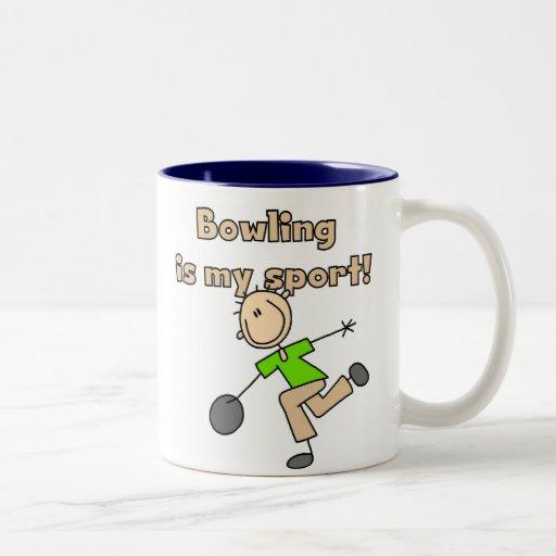 Bowling is my Sport Two-Tone Coffee Mug