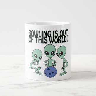 Bowling Is Out Of This World 20 Oz Large Ceramic Coffee Mug