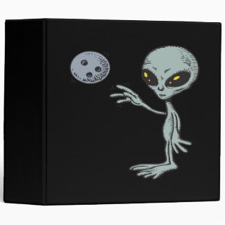 Bowling Is Out Of This World Binder