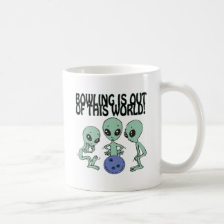Bowling Is Out Of This World Classic White Coffee Mug